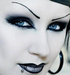 maquillage goth